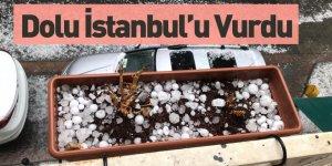 İstanbul'da Dolu Yağdı