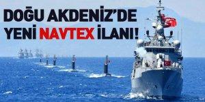 Doğu Akdeniz'de Yeni Navtex İlanı!