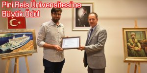 Piri Reis Üniversitesi'ne Büyük Ödül