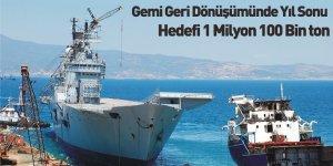 Gemi Geri Dönüşümünde Yıl Sonu Hedefi 1 Milyon 100 Bin Ton