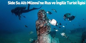 Side Su Altı Müzesi'ne Rus ve İngiliz Turist İlgisi