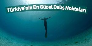Türkiye'nin En Güzel Dalış Noktaları