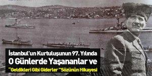 İstanbul'un Kurtuluşunun 97. Yılı