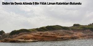 Didim'de Deniz Altında 5 Bin Yıllık Liman Kalıntıları Bulundu