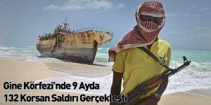 Gine Körfezi'nde 9 Ayda 132 Korsan Saldırı Gerçekleşti