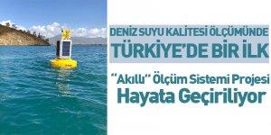 Deniz Suyu Kalitesi Ölçümünde Türkiye'de Bir İlk