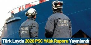 Türk Loydu 2020 PSC Yıllık Raporu Yayınlandı