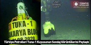 Türkiye Petrolleri Tuna-1 Kuyusunun Sondaj Görüntülerini Paylaştı