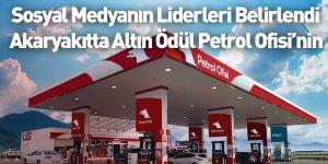 Sosyal Medyanın Liderleri Belirlendi Akaryakıtta Altın Ödül Petrol Ofisi'nin