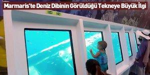 Marmaris'te Deniz Dibinin Görüldüğü Tekneye Büyük İlgi