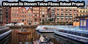 Dünyanın İlk Otonom Tekne Filosu: Roboat Projesi