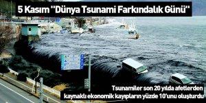"""5 Kasım """"Dünya Tsunami Farkındalık Günü"""""""