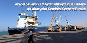 Arap Koalisyonu, 7 Aydır Alıkoyduğu Husilere Ait Akaryakıt Gemisini Serbest Bıraktı