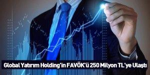 Global Yatırım Holding'in FAVÖK'ü 250 Milyon TL'ye Ulaştı