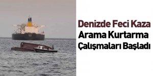 Denizde Feci Kaza! Arama Kurtarma Çalışmaları Başladı
