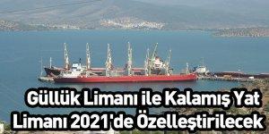 Güllük Limanı ile Kalamış Yat Limanı 2021'de Özelleştirilecek