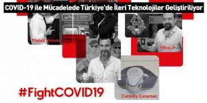 COVID-19 ile Mücadelede Türkiye'de İleri Teknolojiler Geliştiriliyor