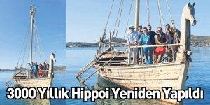 3000 Yıllık Hippoi Yeniden Yapıldı