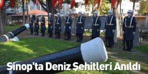 Sinop'ta Deniz Şehitleri Anıldı