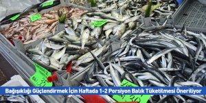 Bağışıklığı Güçlendirmek İçin Haftada 1-2 Porsiyon Balık Tüketilmesi Öneriliyor
