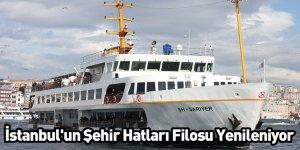 İstanbul'un Şehir Hatları Filosu Yenileniyor