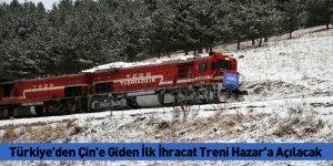 Türkiye'den Çin'e Giden İlk İhracat Treni Hazar'a Açılacak