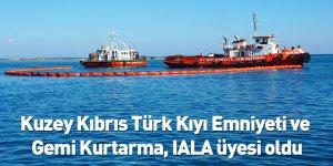 Kuzey Kıbrıs Türk Kıyı Emniyeti ve Gemi Kurtarma, IALA üyesi oldu