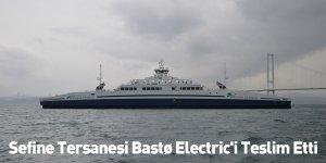 Sefine Tersanesi Bastø Electric'i Teslim Etti