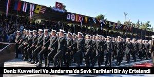 Deniz Kuvvetleri Ve Jandarma'da Sevk Tarihleri Bir Ay Ertelendi