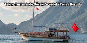 Tekne Turizminde Göcek Zirvedeki Yerini Korudu