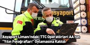 """Asyaport Limanı'ndaki TTC Operatörleri AA'nın """"Yılın Fotoğrafları"""" Oylamasına Katıldı"""