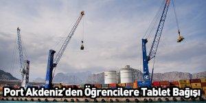 Port Akdeniz'den Öğrencilere Tablet Bağışı