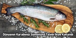 Dünyanın Karadeniz Somonuna Talebi İkiye Katlandı