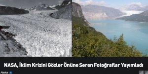 NASA, İklim Krizini Gözler Önüne Seren Fotoğraflar Yayımladı