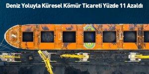 Deniz Yoluyla Küresel Kömür Ticareti Yüzde 11 Azaldı