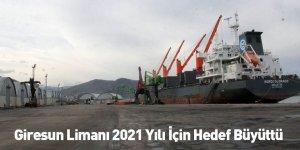 Giresun Limanı 2021 Yılı İçin Hedef Büyüttü