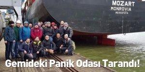 Gemideki Panik Odası Tarandı!