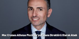 Msc Cruises Alfonso Piccirillo'yu Finans Direktörü Olarak Atadı