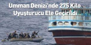 Umman Denizi'nde 275 Kilo Uyuşturucu Ele Geçirildi