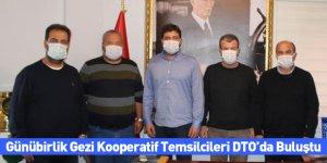 Günübirlik Gezi Kooperatif Temsilcileri DTO'da Buluştu