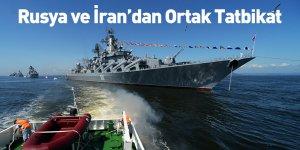 Rusya ve İran'dan Ortak Tatbikat