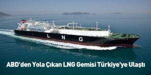 ABD'den Yola Çıkan LNG Gemisi Türkiye'ye Ulaştı