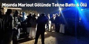 Mısır'da Mariout Gölünde Tekne Battı: 6 Ölü