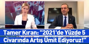 Tamer Kıran: ''2021'de Yüzde 5 Civarında Artış Ümit Ediyoruz!''
