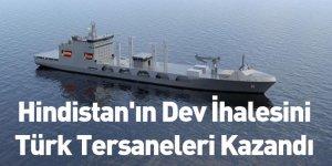Hindistan'ın Dev İhalesini Türk Tersaneleri Kazandı