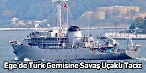 Ege'de Türk Gemisine Savaş Uçaklı Taciz