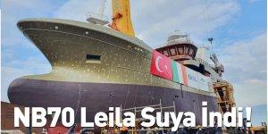 NB70 Leila Suya İndi!