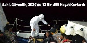 Sahil Güvenlik, 2020'de 12 Bin 655 Hayat Kurtardı
