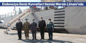 Endonezya Deniz Kuvvetleri Gemisi Mersin Limanı'nda