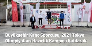 Büyükşehir Kano Sporcusu, 2021 Tokyo Olimpiyatları Hazırlık Kampına Katılacak
